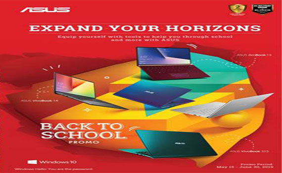 Asus Notebook Back to School Promotion