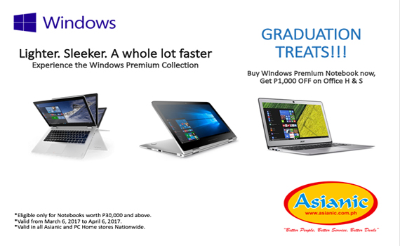 Windows Graduation Treats