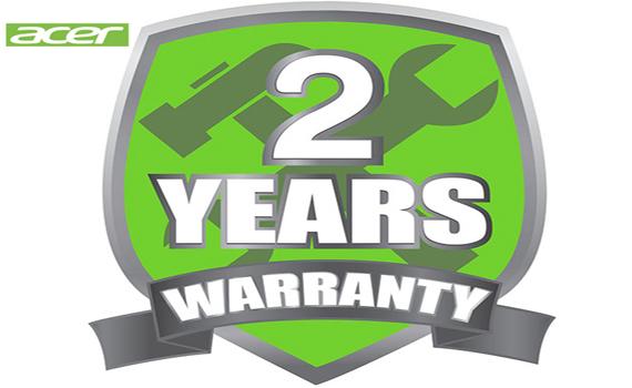 Acer 2 Year Warranty