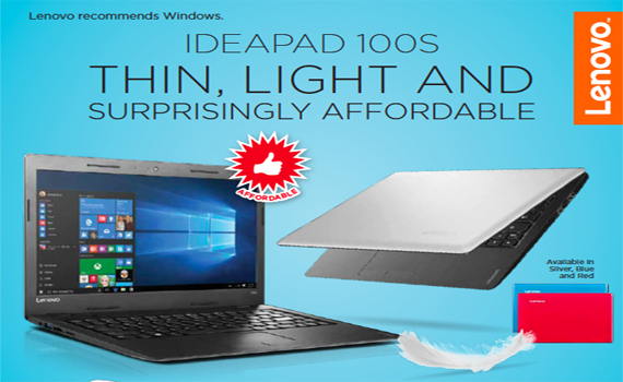 Lenovo Ideapad 100s Price Drop