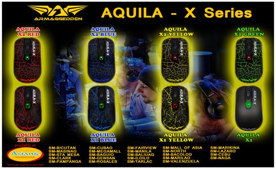 Armaggeddon Aquila Gaming Mouse