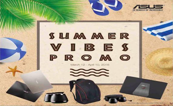 Asus Summer 2016 Promo