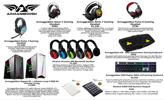 Armaggeddon New Products
