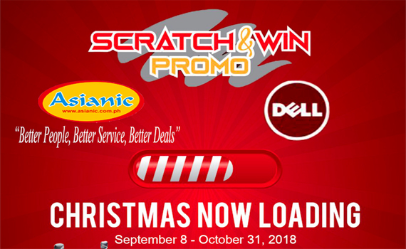 Dell Scratch and win Promo