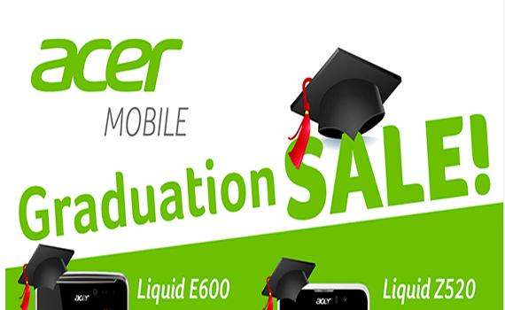Acer Mobile Graduation SALE!