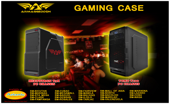 Armaggeddon Gaming Chassis 3