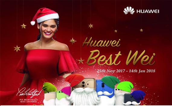 Huawei Best Wei Christmas Promo