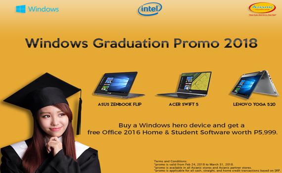 Asianic Microsoft Graduation Offer