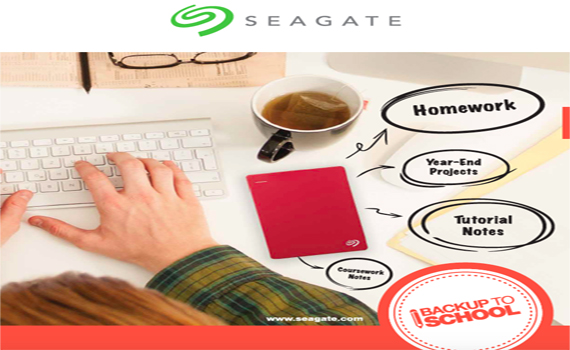 Seagate Back-up to School