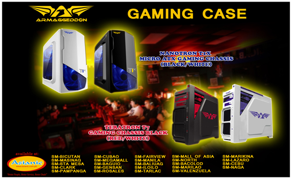 Armaggeddon Gaming Chassis