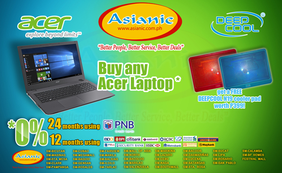 Acer Deep Cool Promo