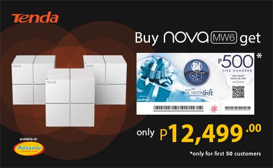 NOW AVAILABLE!!! Tenda Nova MW6 Whole Home Mesh WiFi System