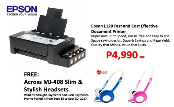 Epson L120 Printer Promo!