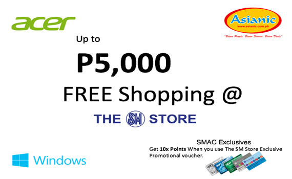 Acer - SM Holiday PROMO! Extended until January 15, 2018!!!