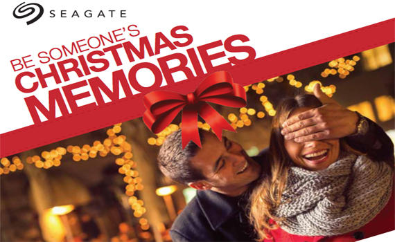 Seagate Be Someone\'s Christmas Memories