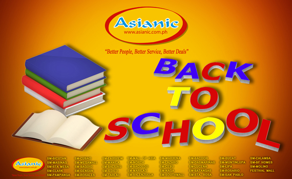 Asianic Back To School