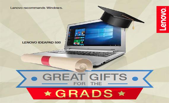 Lenovo Graduation Gifts Campaign