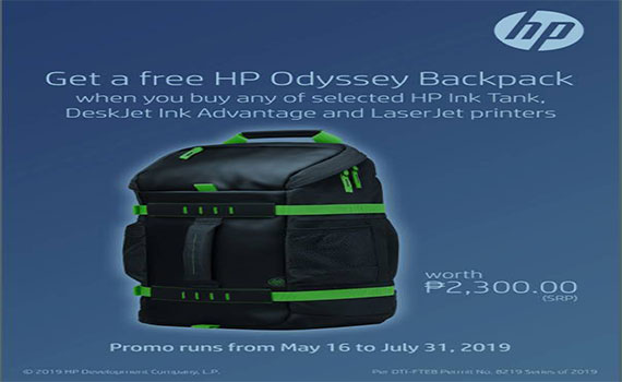HP Free Odyssey Backpack