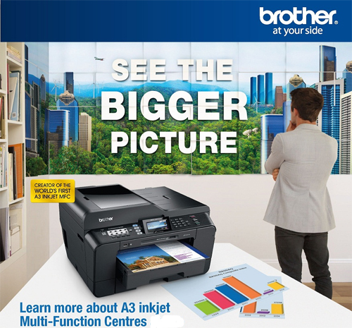 Brother MFC-J6510DW AIO A3 Size InkJet Printer | Asianic