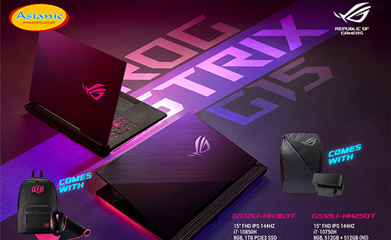 Get ready to style on the competition with these ROG Strix G15s