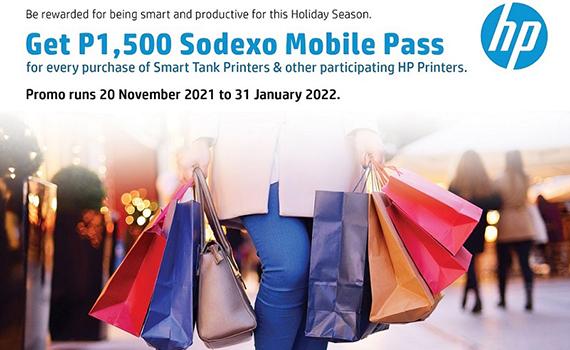 HP Printers x Sodexo Mobile Pass